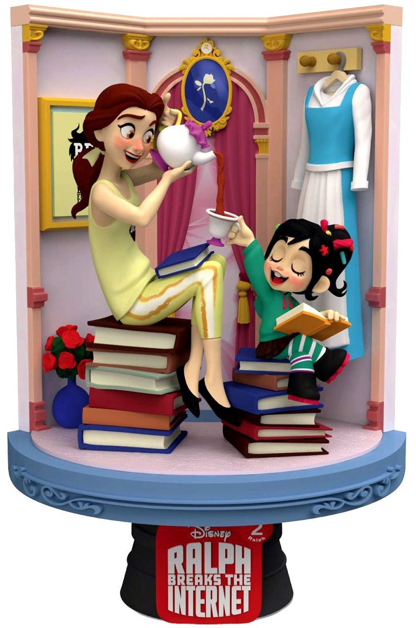 Disney Wreck-It Ralph 2: Ralph Breaks the Internet D-Stage Belle 6-Inch Diorama Statue DS-024 (Pre-Order ships September)