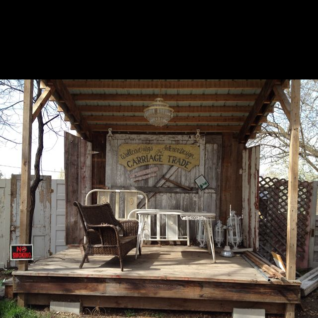 DIY Stage For Backyard...maybe Not So Rustic...but Maybe