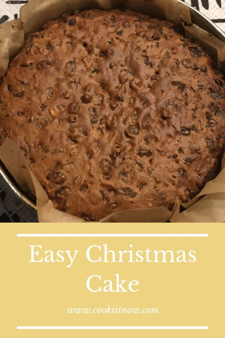 Easy Christmas Cake Christmas cakes easy, Slow cooker