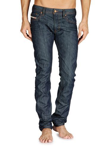 Dark wash skinny from Diesel. Good for tucking in boots.