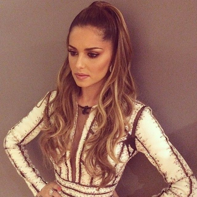 Cheryl Cole Wedding Hairstyle: Cheryl Wears Beauty Works Hair Extensions