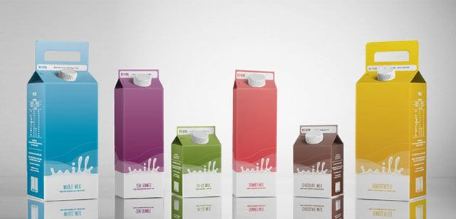Pin En Milk Packaging