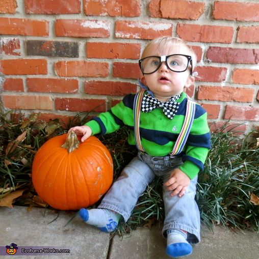 This homemade costume for babies entered our 2013 Halloween Costume Contest. & Nerd - Halloween Costume Contest at Costume-Works.com | Nerd ...