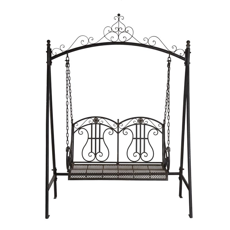 Outdoor Swing Chair Bunnings Shop In Chennai Marquee Rustic Iron 2 Seater I N 3191789 Warehouse