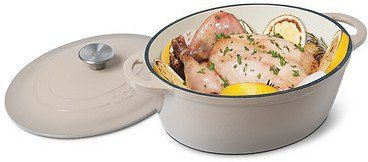 Crofton 4 6 Quart Cast Iron French Oven Porcelain Enameled Cast Iron Distributes And Retains Heat Evenly Coupons Discounts Order Food Online Food Food