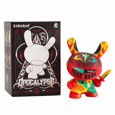 "Kidrobot Dunny Seriers 2009 By Shawnimal "" Soothsayer """