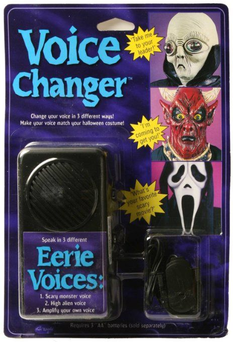 Amazon Com Ghostface Voice Changer As Seen In Movie Scream Toys Games Fun World Ghostface The Voice