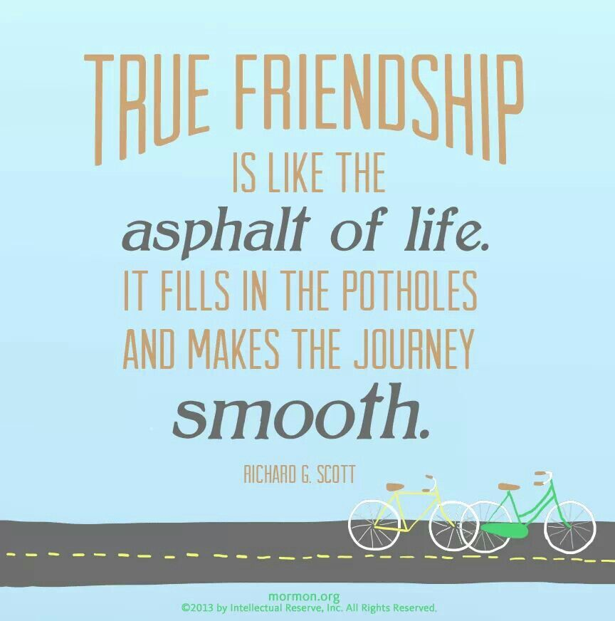 lds friendship quotes