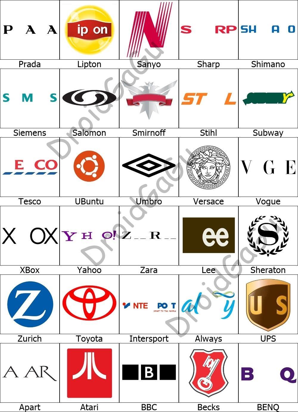 Level 5 Logo Quiz Answers Bubble Droidgagu Logo Quiz Answers Logo Quiz Logo Answers