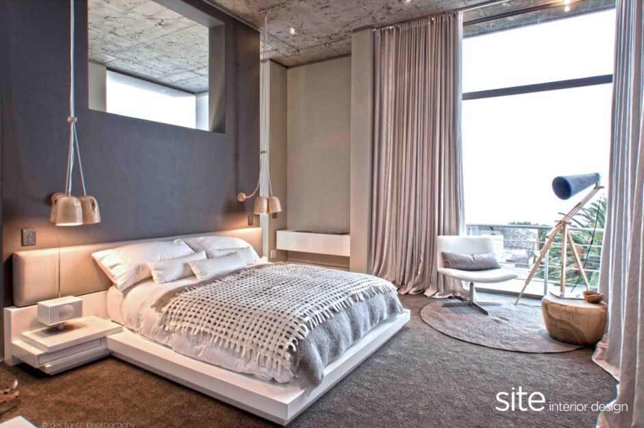 bedroom Cozy And Modern House In