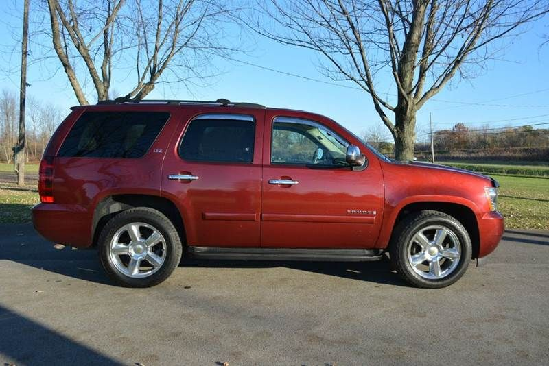 2008 Chevrolet Tahoe 4x4 Ltz 4dr Suv In Spencerport Ny Murrays Elite Imports Inc Chevrolet Tahoe Used Pickups For Sale Used Cars