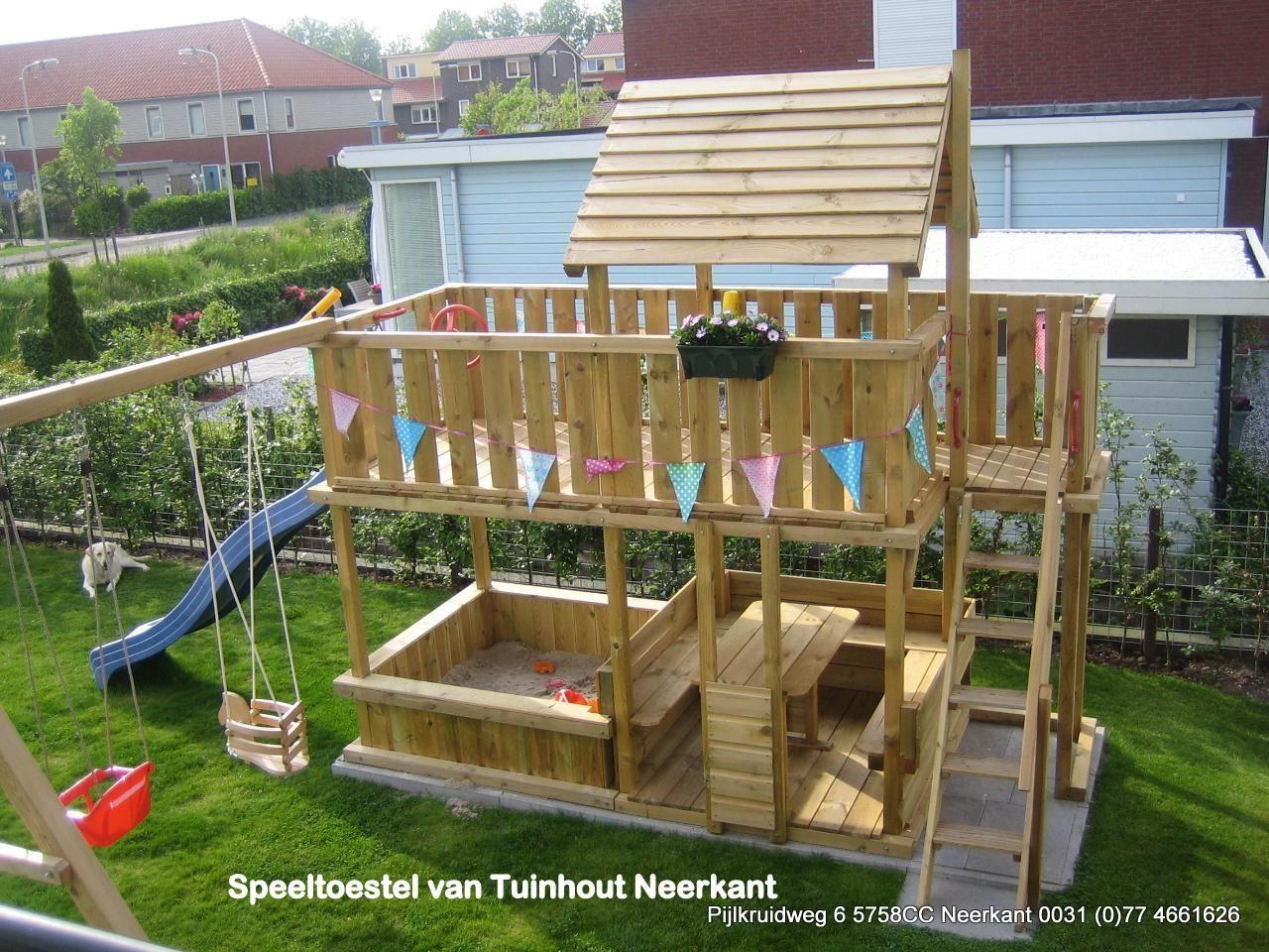 speeltoestel tuin zelf maken - Google zoeken : Tuin ideetjes ...