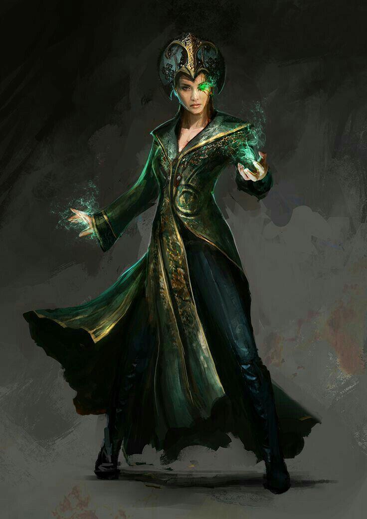 Female Sorcerer - Pathfinder PFRPG DND D&D d20 fantasy ...