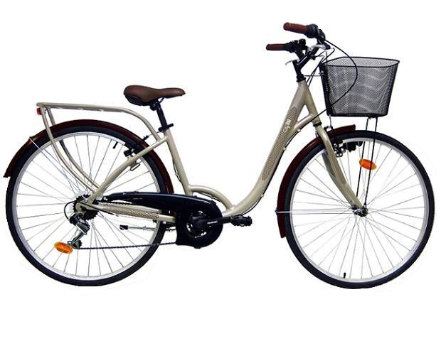 Bicicleta De Ciudad City 300 Lady 21v Las Mejores Ofertas De