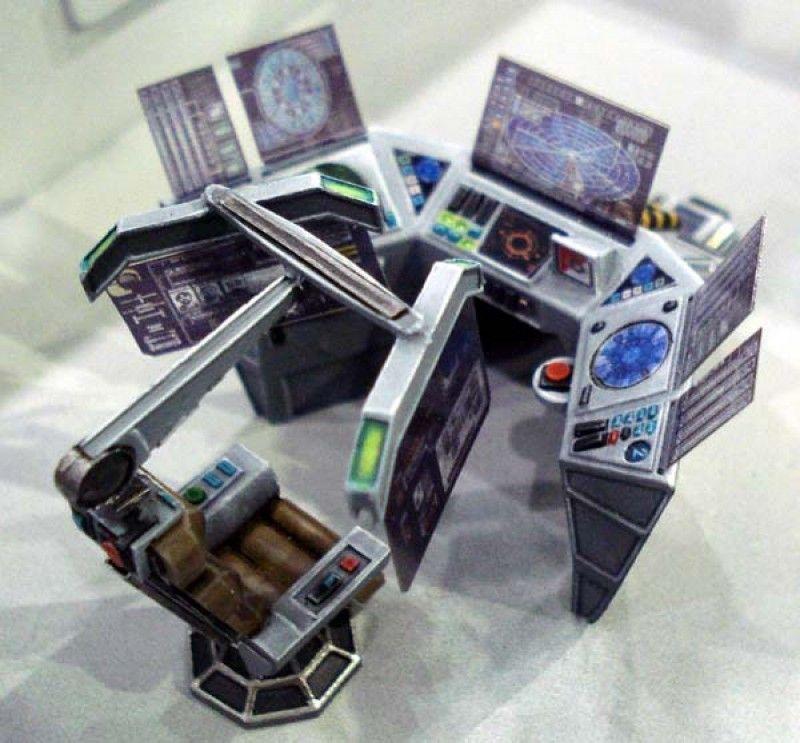 Sci-fi Command Console Set | Antenocitis Workshop