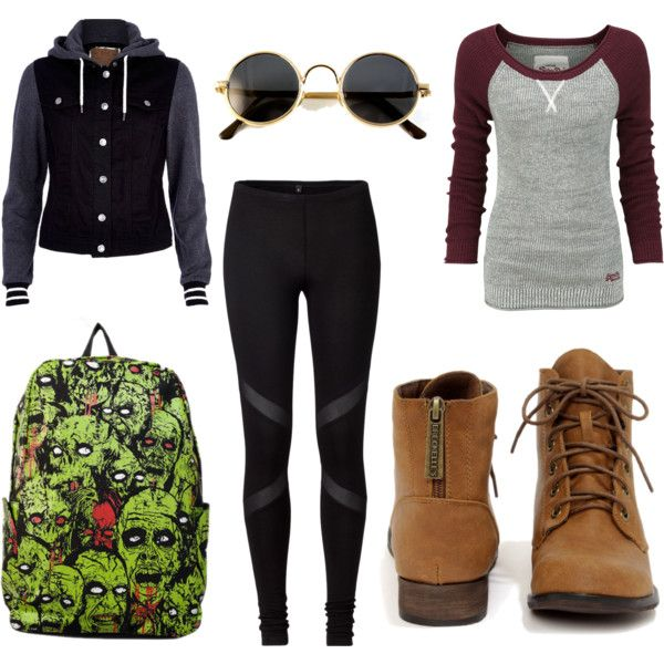 Untitled #48 | OOTD's | Hipster school outfits, Cute ...