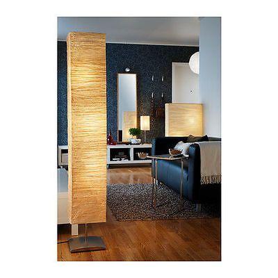 Ikea Magnarp Floor Lamp Natural