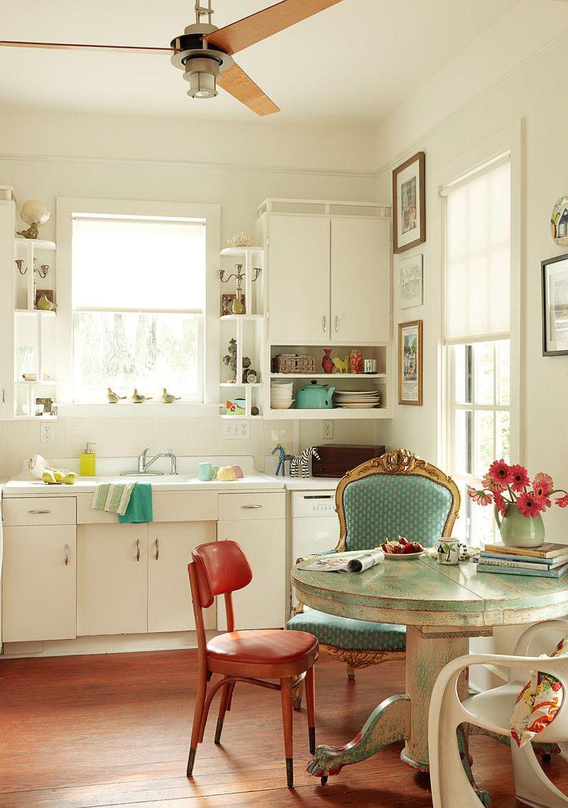 Уютный вариант интерьера кухни - Фото 18   Кухонные окна№5 ...