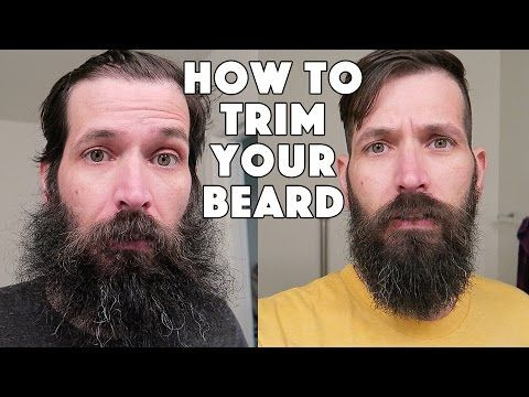 how to trim your beard before and after beard trim youtube beard pinterest beard trimmer. Black Bedroom Furniture Sets. Home Design Ideas