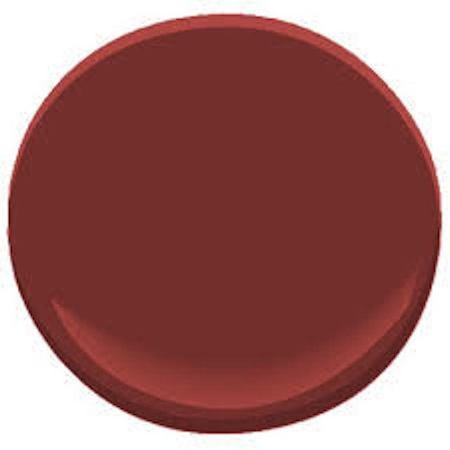 See the 10 Hottest Red Paint Colors: Raspberry Truffle   Benjamin Moore