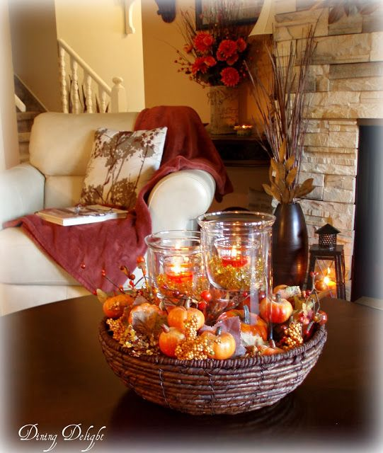 Fall Coffee Table Centerpiece Coffee Table Centerpieces Fall