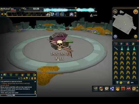 RuneScape: Deathtouched Dart on Mimic on Elite cb LvL 138