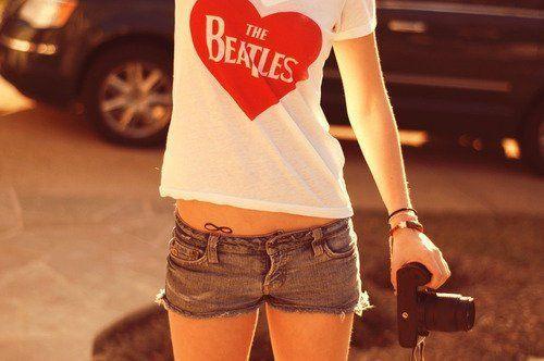 The Beatles shirt