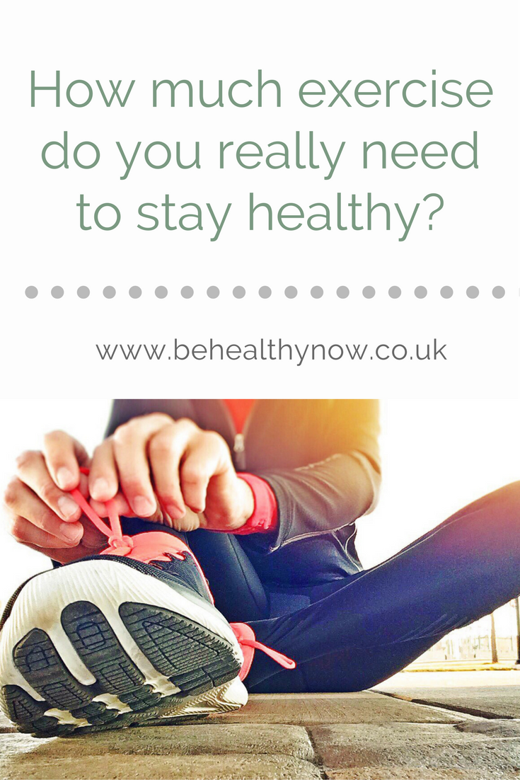 Communication on this topic: How Much Exercise Do You Really Need, how-much-exercise-do-you-really-need/