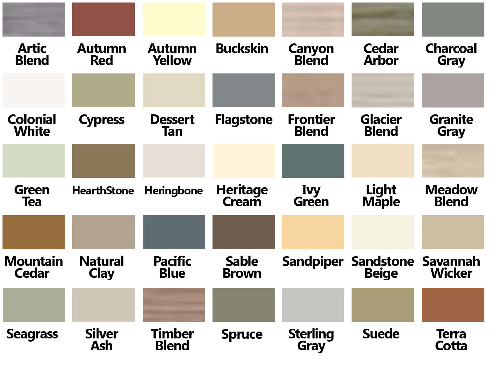 Certainteed vinyl siding color chart for the beach house for New vinyl siding colors