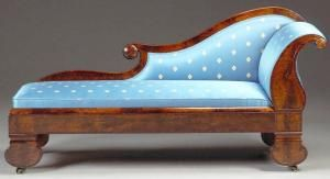 11 Different Antique Couches, Sofas And Settee Styles: Méridienne Daybed Or  Fainting Couch