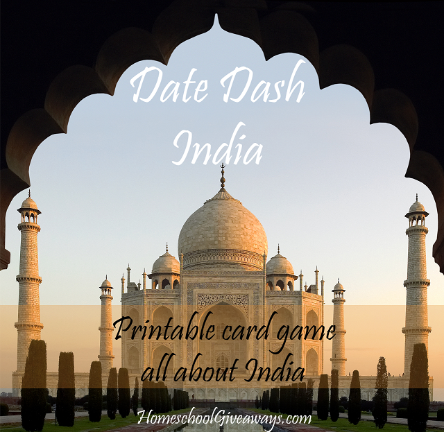 Date Dash India History Card Game Card games, Indian history