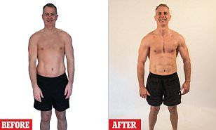 Bren Foster 53 From Leicester Dropped From 11st 8lb To 11st Lost 4in From His Body And Added Muscle All O Diet Plans For Men 50 Year Old Men Best Diet Plan