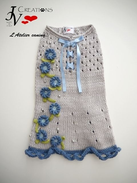 Dress Non ti scordar di me   patrones en crochet   Pinterest ...