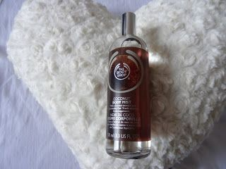 The Body Shop Body Mist in coconut