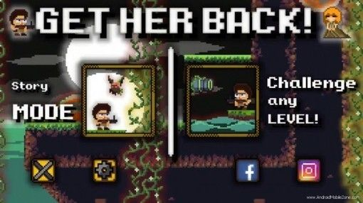 GET HER BACK: A Journey to The Creature Island APK Mod v1