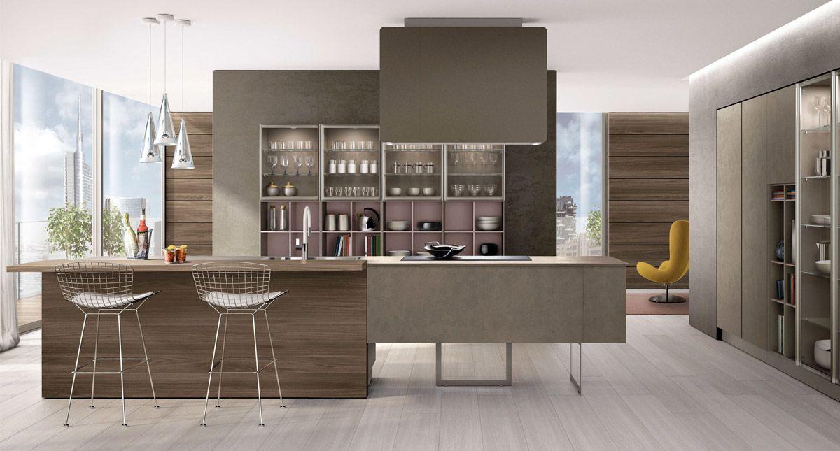 Cucina Moderna Lilla.Euromobil Cucine Fonte Lillo Piscione Arredamento