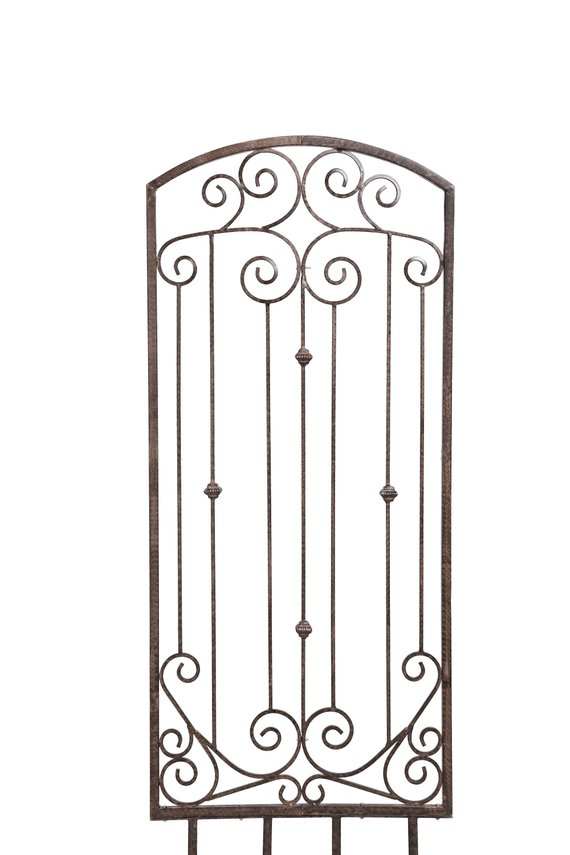 H Potter Large Garden Trellis Wrought Iron Heavy Scroll Metal Wall Art Yart Art Lawn Patio Wall Decor Screen For Roses Ivy In 2020 Patio Wall Art Large Garden Trellis