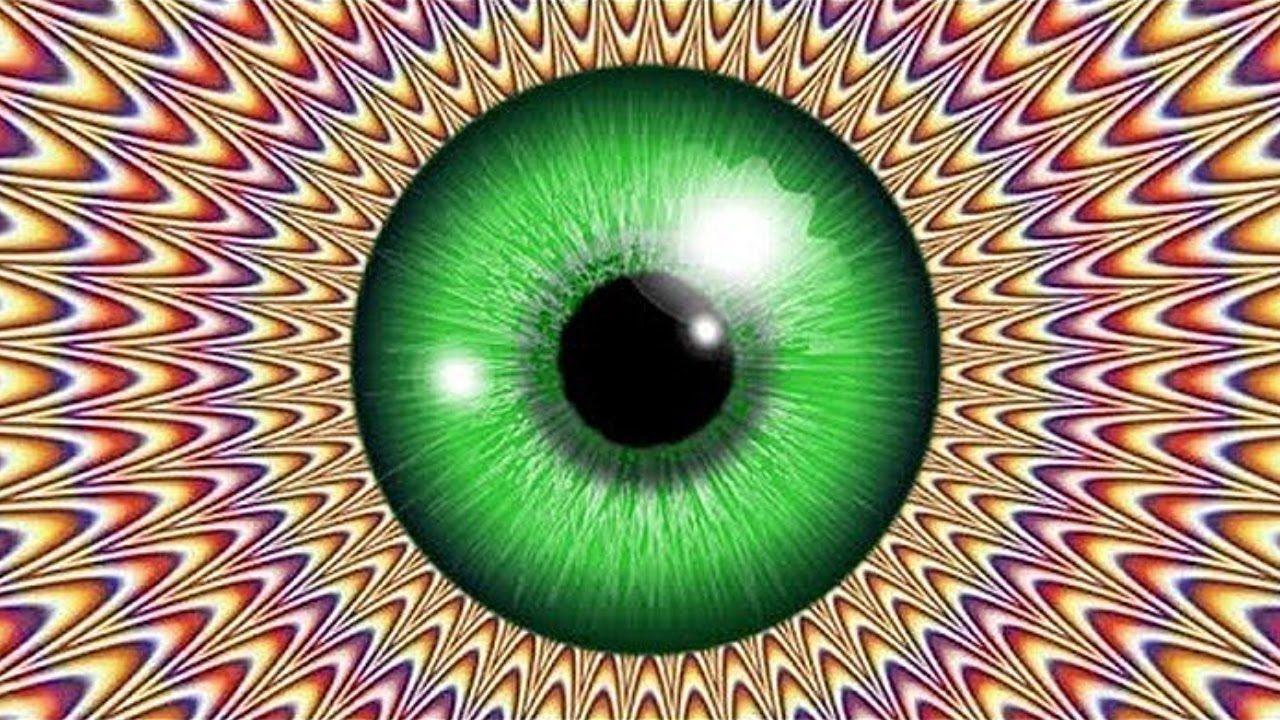 картинки обман зрения ютуб