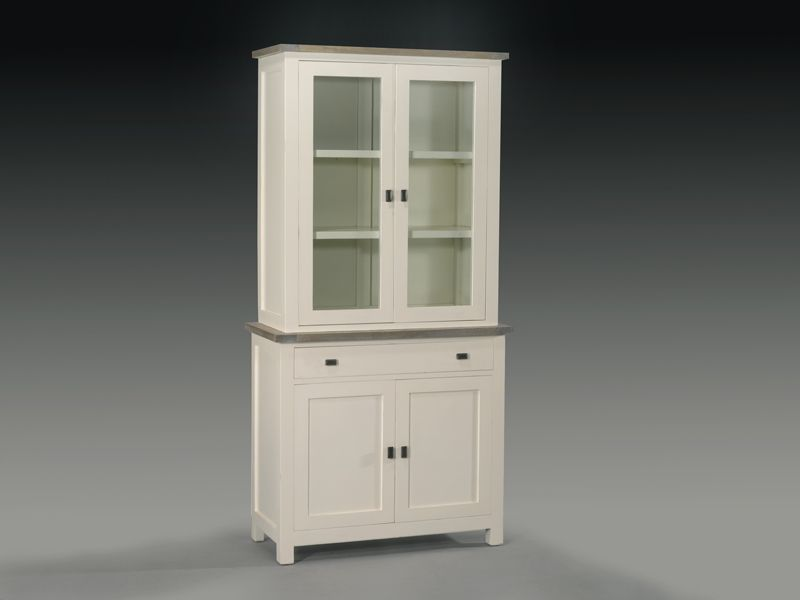 Alacena blanca alacena blanca roble muebles pinterest - Cajonera blanca barata ...