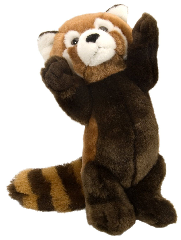 Amazon Com Wild Republic Cuddlekins 12 Standing Red Panda Plush