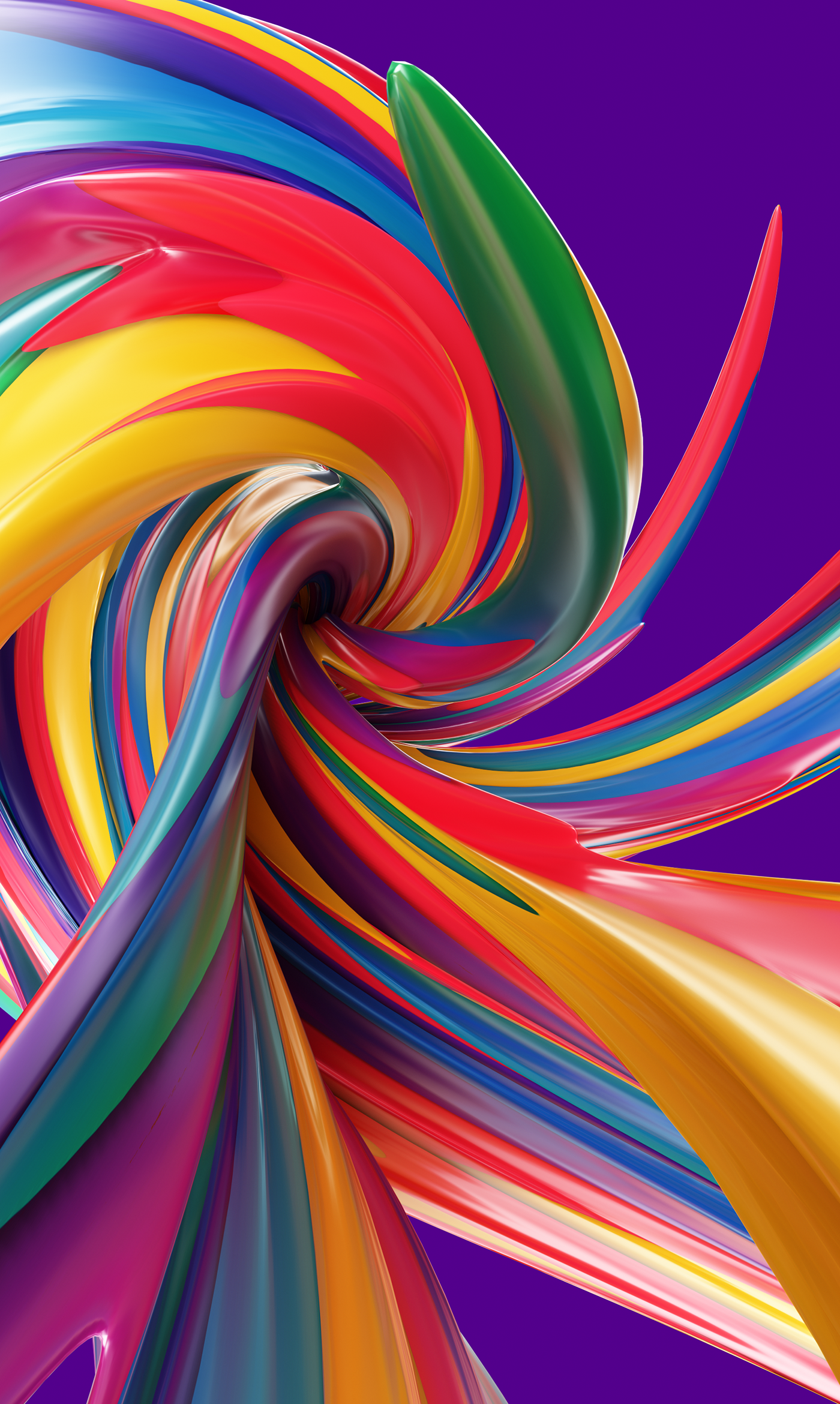 Curved Lines Series 1 0 On Behance Colorful Wallpaper Abstract Art Wallpaper Colourful Wallpaper Iphone