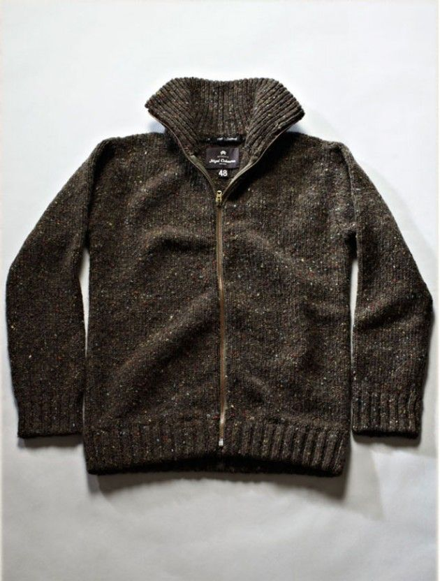 3ce3fd923715 Zip Cardigan ‹ Authentic ‹ Store ‹ Nigel Cabourn