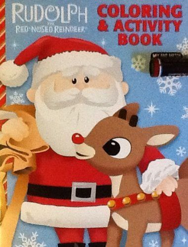 Original Rudolph The Red Nosed Reindeer Coloring Activity Book 32 Pages Holiday Book Christmas Th Holiday Books Red Nosed Reindeer Color Activities