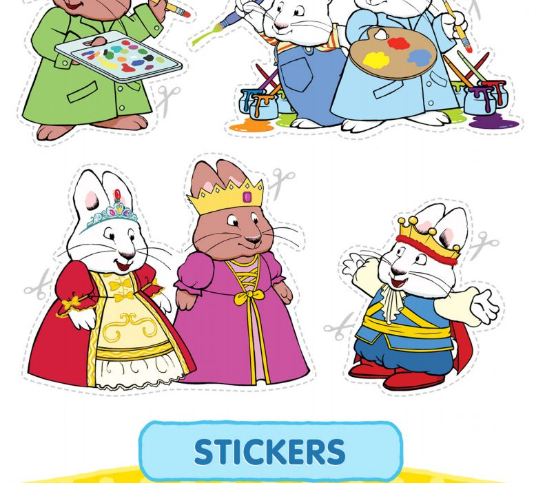 Max and Ruby stickers | Max and Ruby | Pinterest