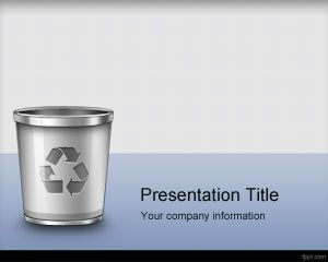 Trash Management Powerpoint Template Is A Free Ppt Template For