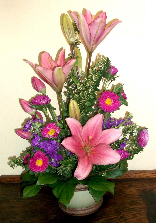 Best wishes in portland send flowers from a lovie
