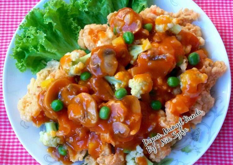 Resep Udang Ala Koloke Asam Manis Oleh Nia Syifa Resep Makan Malam Resep Udang Makanan