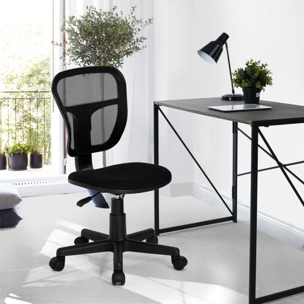 Chaise De Bureau En Maille Plastique Noir Chaise Bureau Chaise Tissu Fauteuil Bureau