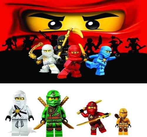 Painel Decorativo Festa Infantil Lego Ninjago Mod2 R 47