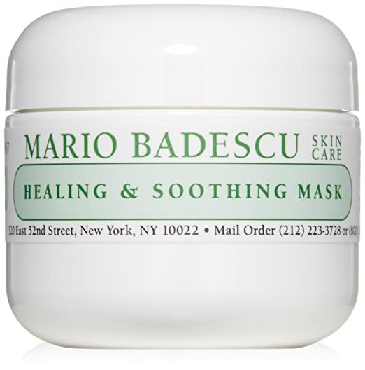 Amazon Com Mario Badescu Healing Soothing Mask 2 Oz Premium Beauty In 2020 Mario Badescu Mask For Oily Skin Skin Care